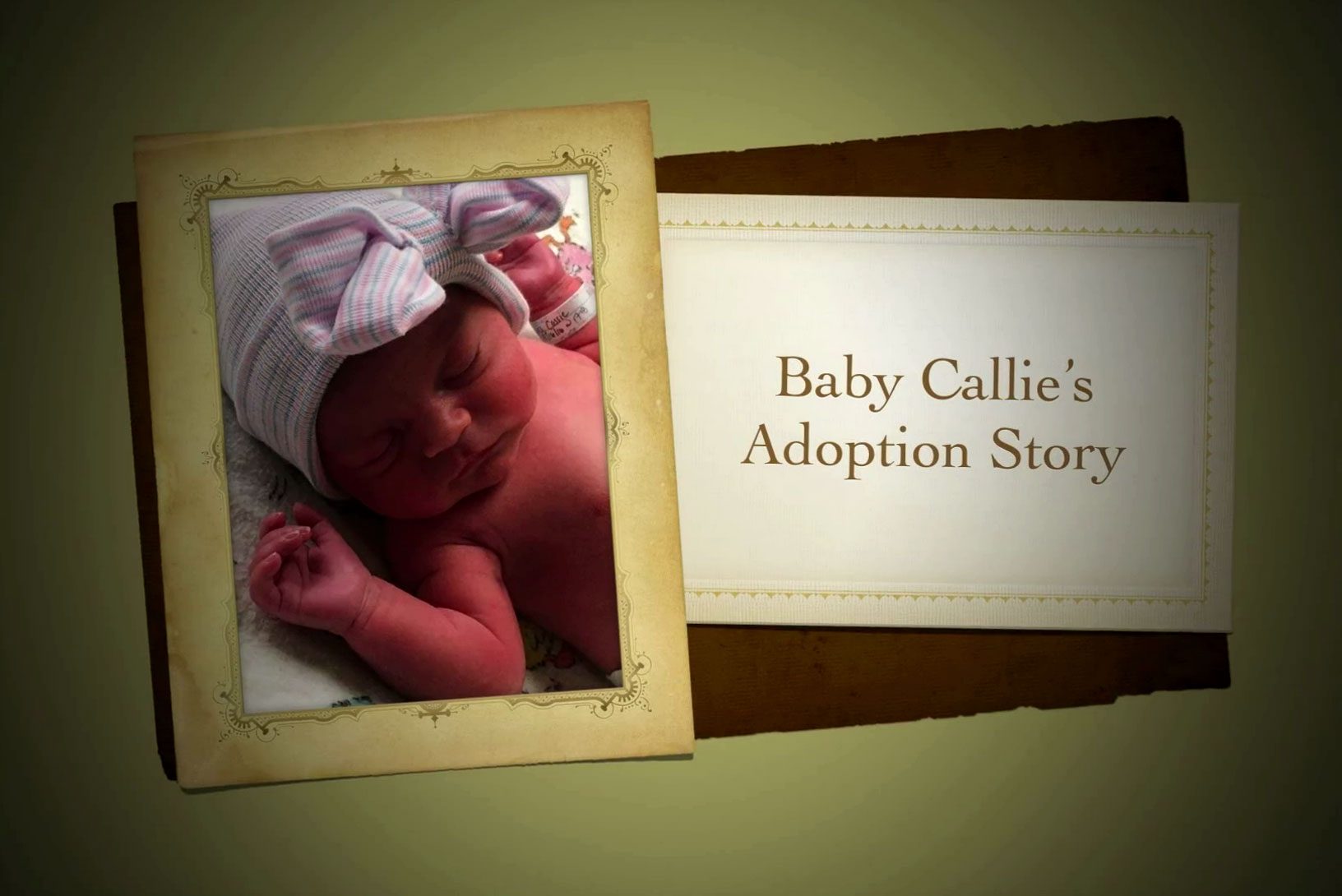 Baby Callie's Adoption Story
